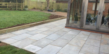 Garden Patio & Paths