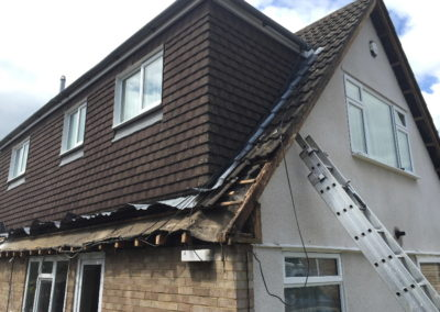 Banbury Roofing and Paving - Rotten Roofline Removal