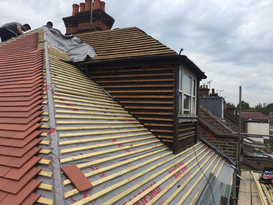 Banbury Roofing and Paving - New Roofing Batons, Dorma window
