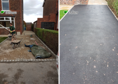 Banbury Roofing and Paving - New Tarmac Drive