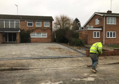 banbury roofing and paving driveway